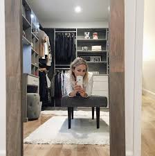 the 23 prettiest walk in closets on instagram famous interior