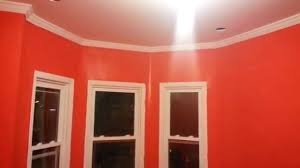 behr tomato color semi gloss paint youtube