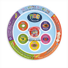buy seder plate colorful melamine passover seder plate buy at the school