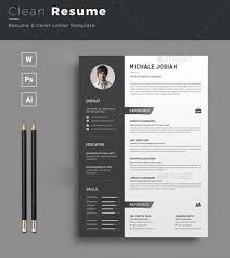 resume template indesign free clean minimal resume template 25 more free templates to help