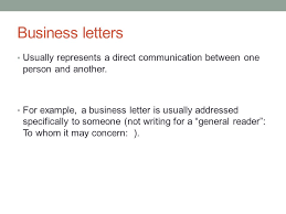 Business Letter Language technical writing november 12 today business letters continued