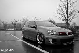 fast volkswagen cars brada wheels br10 volkswagen mk6 gti air suspension vehicles