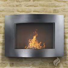 decorations wall mounted indoor fireplaces your daily interior wall mount ethanol fireplace combine with brick wall also