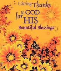 thanksgiving blessings and poems simple salvation church of god