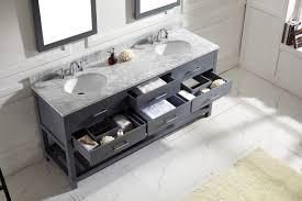 Costco Vanities For Bathrooms Bathroom Wondrous Design Of 72 Inch Vanity For Contemporary