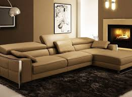 Distressed Leather Sofa Brown Eparchy Modern Leather Sofa Set Rustic Sectional Sofa Brown