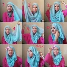 simple hijab styles tutorial segi empat easy and simple hijab tutorials how to wear hijab steps hijab