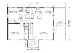 Home Plans With Loft 100 House Plans With Loft 1 U0026 2 Bedroom Apartment Floor