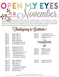 oct 27 open my november scripture writing plan bible