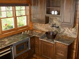 Rustic Kitchen Countertops by Rainforest Green Marble Kitchen Rustic Kitchen Minneapolis