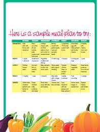 pre made food plans diet food prepared