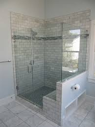 bathroom shower with bench seat tile shower bench bathroom with