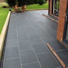 Patio Pointing Compound Natural Paving U0027classicstone U0027 Carbon Black Kadapha Paving Slabs