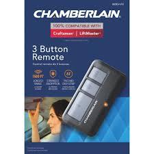 chamberlain 3 button garage door remote 953ev p2 martin hardware