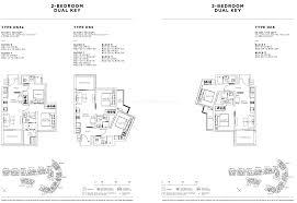 sophia hills floor plan 2 bedroom dual key