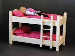 Bunk Bed With Mattress Inch Doll Bunk Bed With Mattress 094