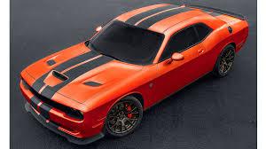 Dodge Challenger Orange - muscle car sales are falling but dodge challenger hellcat sales