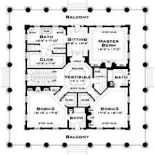 southern plantation home plans a plan that clearly shows that space is carved out from a solid