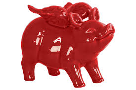 home decorators collection pastry chef pig with chalkboard