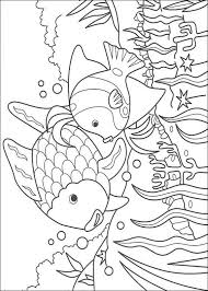 rainbow fish coloring pages toddler coloringstar