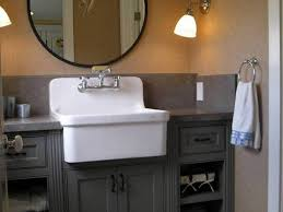 Concrete Bathroom Sink by Bathroom Sink Bathroom Rectangle Grey Concrete Sink And Steel