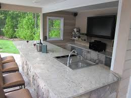 How To Design An Outdoor Kitchen Outdoor Kitchens Bars Outdoor Bars Island With Regard To