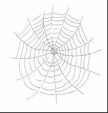 Marvelous Spider Web Coloring Pages With Spider Coloring Page Spider Web Coloring Page