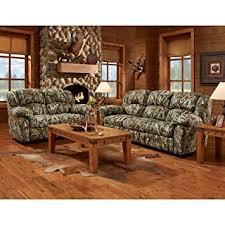 Set Furniture Living Room Cambridge Camo 3 Set Sofa Loveseat Recliner
