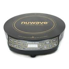 Nuwave Cooktop Nuwave 12 In Pic Gold Precision Induction Cooktop In Black With