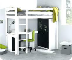 lit mezzanine noir avec bureau lit mezzanine bureau blanc best decoration lit mezzanin lit