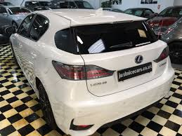 lexus ct200h used uk second hand lexus ct 200h 1 8 advance 5dr cvt hybrid auto for sale