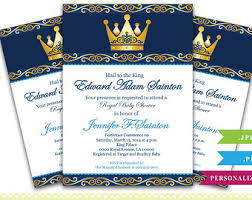 Royal Blue Baby Shower Decorations - royal themed baby shower invitations lilbibby com