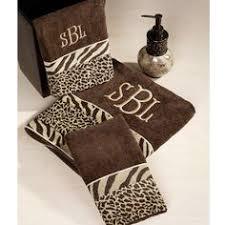 Safari Bathroom Ideas African American Bathroom Decor Accessories Animal Print