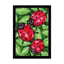 Porch Flag Ladybugs Large Porch Flag 28 X 40 Seasonal 10 1712 126 Spring Rain