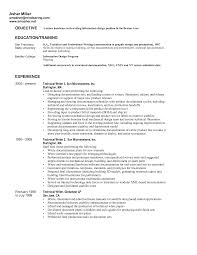 graphic design objective resume sample resume for therapist free resume example and writing download associate cover letter agent objective topic sample resume for psychology majors free