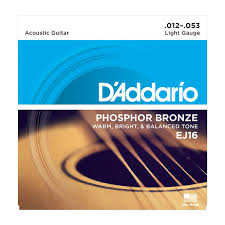 D Addario Strings Phosphor Bronze Wound Ej16 Phosphor Bronze