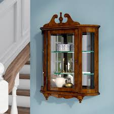 wall mounted curio cabinet wall units best wall mounted curio cabinet decor bedingfield wall