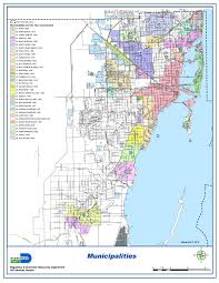 Florida Towns Map Miami Dade May Get A Few New Cities The New Tropic