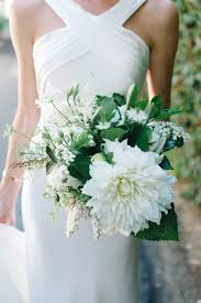 wedding flowers greenery bouquets photos simple bouquet of ivory flowers greenery