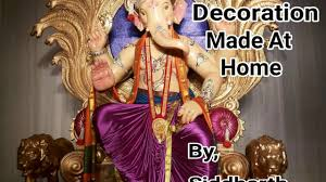 innovative ganpati decoration ideas for home youtube