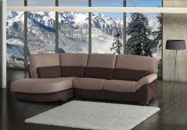 canapé d angle fixe canapé d angle fixe 235 cm avec angle rond design fontecchio
