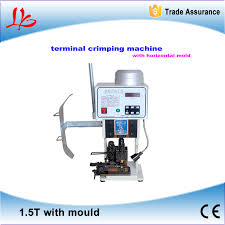 wire terminal crimping machine wire terminal crimping machine