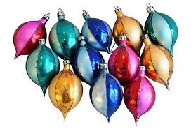 fancy tree ornaments w box set of 12 omero home