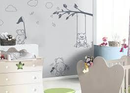 theme pour chambre bebe garcon deco chambre bebe papier peint newsindo co