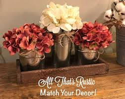 Home Decor Centerpieces Rustic Centerpieces Etsy
