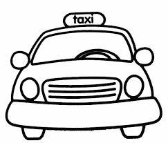 nos jeux de coloriage taxi à imprimer gratuit