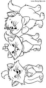 color mommy cat kittens worksheets cat coloring books