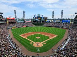 Chicago White Sox Map by Guaranteed Rate Field Chicago White Sox Ballpark Ballparks Of