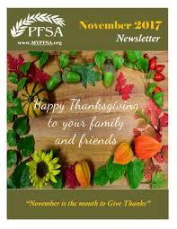 pfsa november 2017 newsletter by portuguese fraternal society of