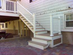 Stairs And Landing Ideas by Deck Stairs To Patio Home Diy Pinterest Deck Stairs Decking